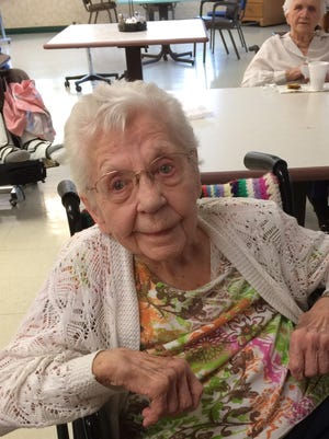 Verda Baumgartner celebrated her 103rd birthday Monday with friends and family. She recently competed in a queen pageant and always feel beautiful inside and out. She resides at the Good Samaritan Society and remains active daily.