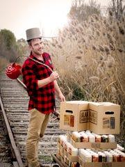 Robert Lauer is cider maker at Blake's Hard Cider Co.,
