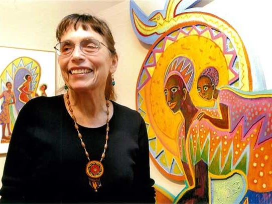 Betty LaDuke gains inspiration for her work from her