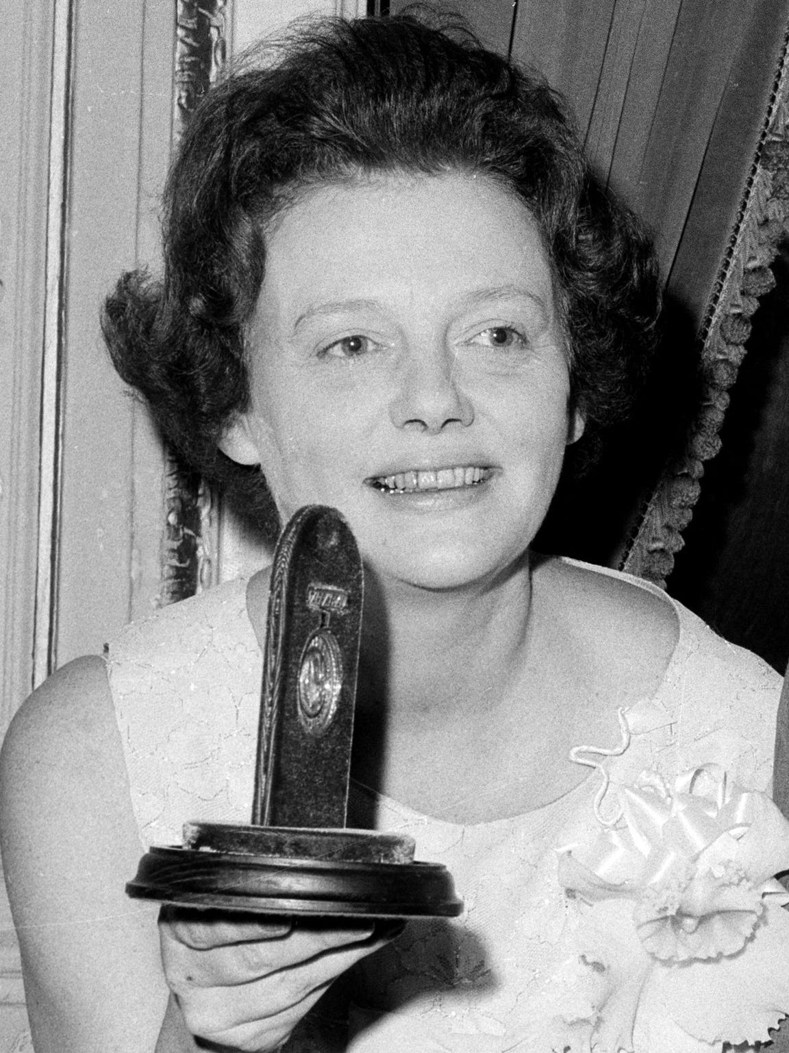 Jean Kerr, a playwright and author who wrote with self-deprecating