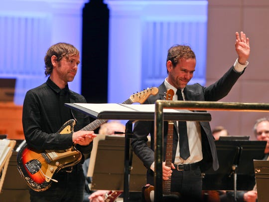 Rock star brothers Aaron and Bryce Dessner  Dessner's