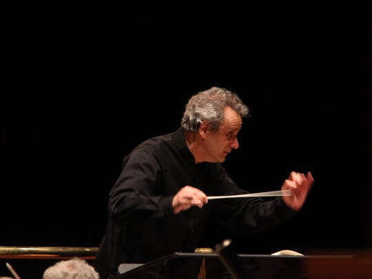 Louis Langrée leads the CSO three nights in a row this weekend in Music Hall.