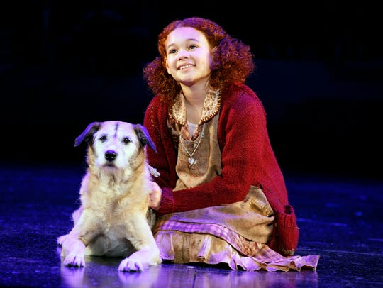 Tori Bates stars as the loveable red-headed orphan