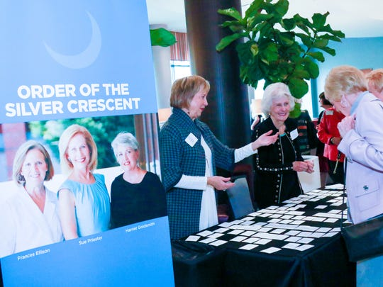 The Board of Directors of Greenville Women Giving and the Community Foundation  hosted a special ceremony to honor  Greenville Women Giving's three founders – Frances Ellison, Sue Priester,  and Harriet Goldsmith  who received the Order of the Silver Crescent,  South Carolina's highest civilian award .  Saturday,  January 14, 2017
