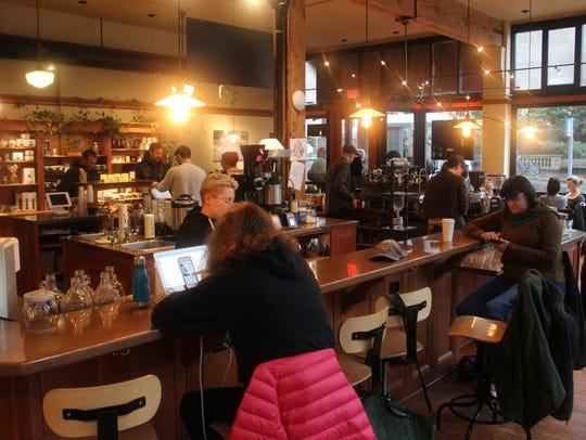 Case Study has locations around Portland, with house-roasted