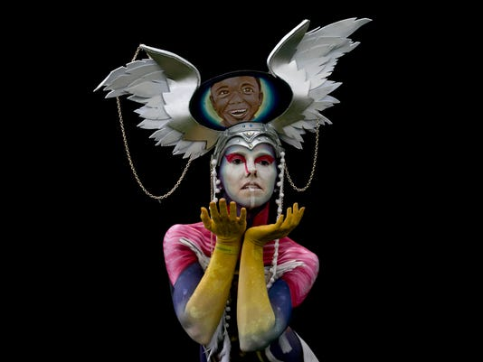 Mind-blowing body art of the 2017 World Bodypainting Festival