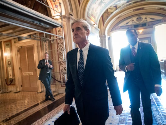 AP TRUMP RUSSIA PROBE MUELLER A FILE USA DC