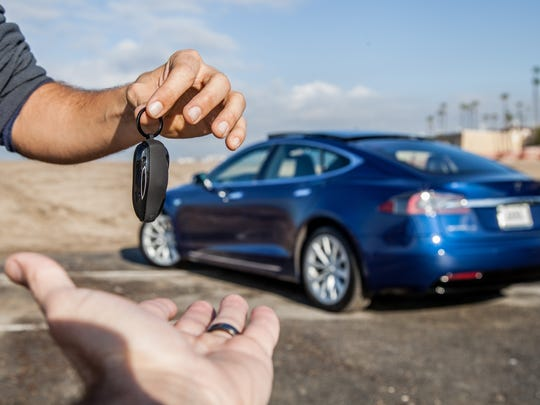 Turo claims that a Tesla Model S electric sedan owner
