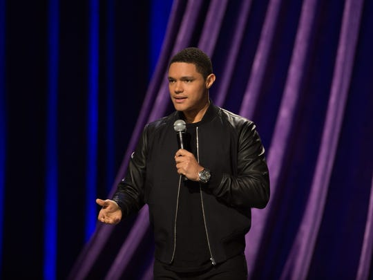 """Trevor Noah, host of Comedy Central's """"The Daily Show,"""" played RIT's Gordon Field House back in October."""