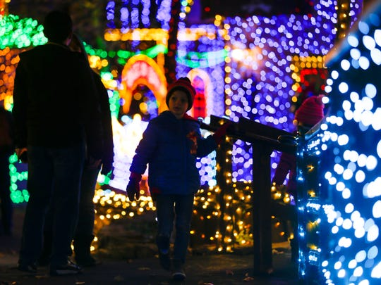 """""""When the lights come on, you are transformed to a whole new level of Christmas at Silver Dollar City,"""" says John Ancona, the theme park's director of entertainment and events."""