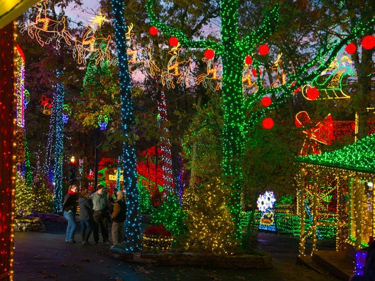 Silver Dollar City's new Christmas in Midtown adds 1.5 million Christmas lights, bringing the park's total to 6.5 million.