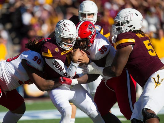 NCAA Football: Sun Bowl-Arizona State vs North Carolina State