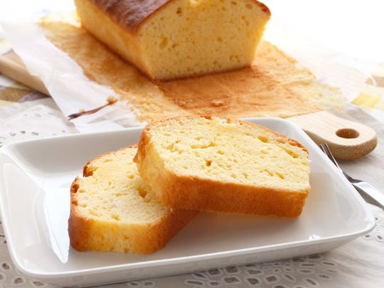 Pound cake purchased from Stock's Bakery in Philadelphia will be served at the April 22 St. Casimir Dinner.