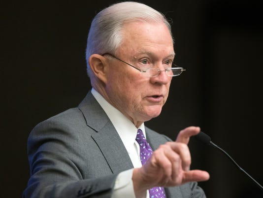 El Fiscal General de EE.UU. Jeff Sessions