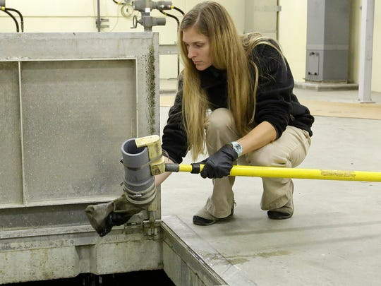 Autumn Fisher of the Fond du Lac Wastewater Treatment
