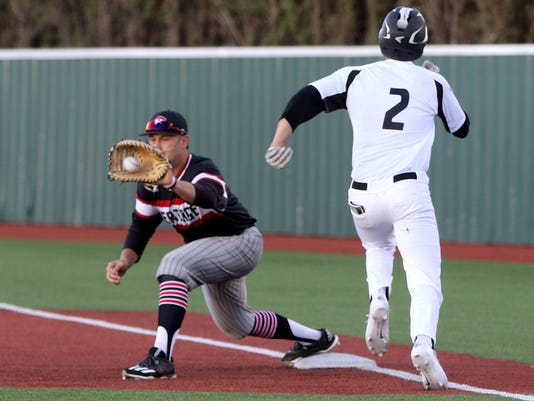 Rider baseball vs. Colleyville Heritage