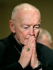 In this Nov. 14, 2011, file photo, Cardinal Theodore