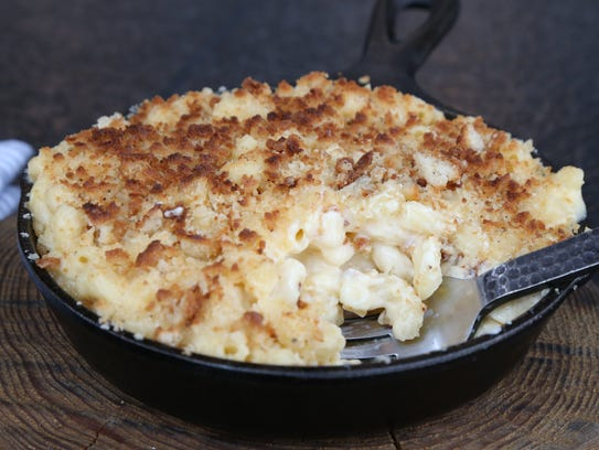 The Cast Iron Beer Mac + Cheese at Heritage Food +