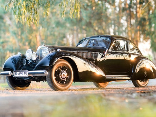 1938 Mercedes 540 Autobahn Kurier will  be on display at the Concours d'Elegance of America, July 30, 2017 at the Inn at St. John's, Plymouth.