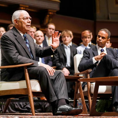 Former U.S. Secretary of State, General Colin Powell,
