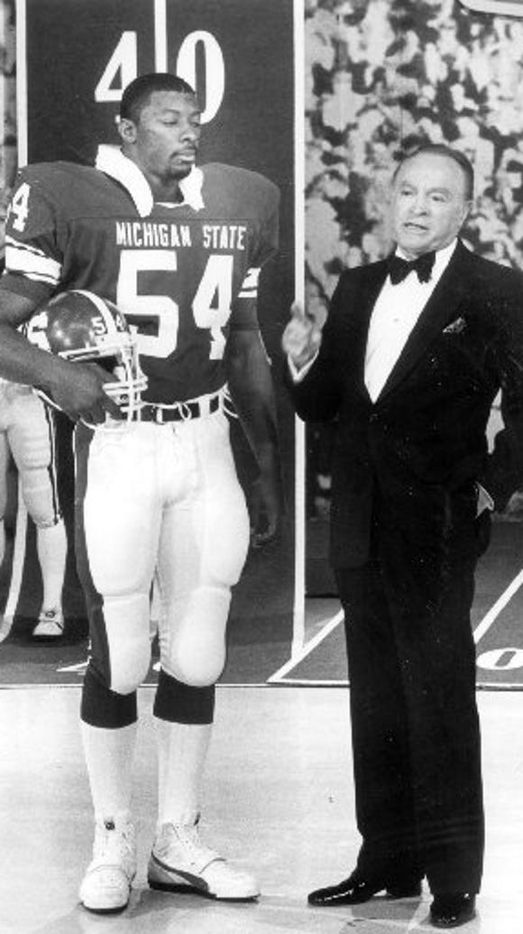 Michigan State All-American linebacker Carl Banks appeared