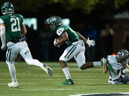 Greeneville wide receiver Dorien Goddard has committed