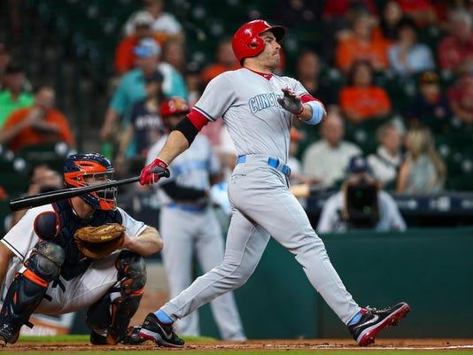 MLB: Cincinnati Reds at Houston Astros
