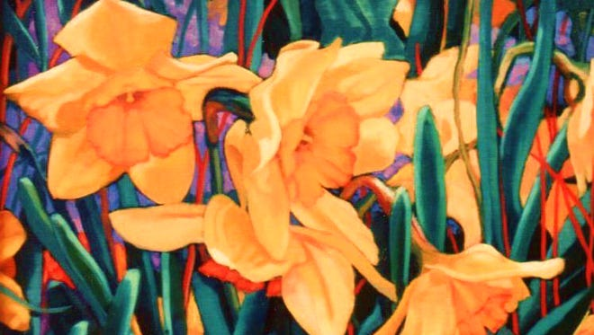 """Daffodils"" by Marti Yeager"
