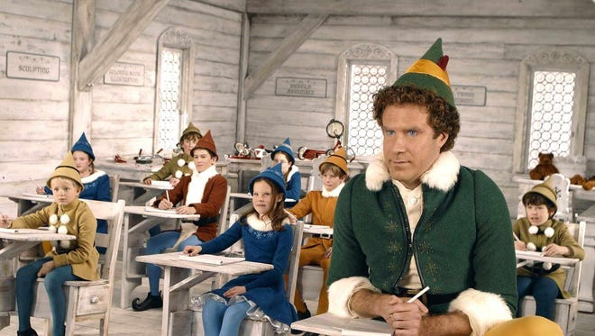 """Will Ferrell stars as Buddy in """"Elf,"""" one of Entertainment Weekly's must-see movies for kids under 13."""