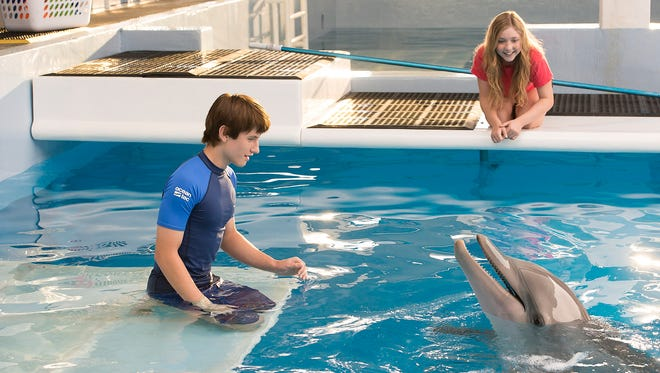Donna Beckett, a Haddon Township native, works at the Clearwater, Fla., aquarium that inspired 'Dolphin Tale 2.'
