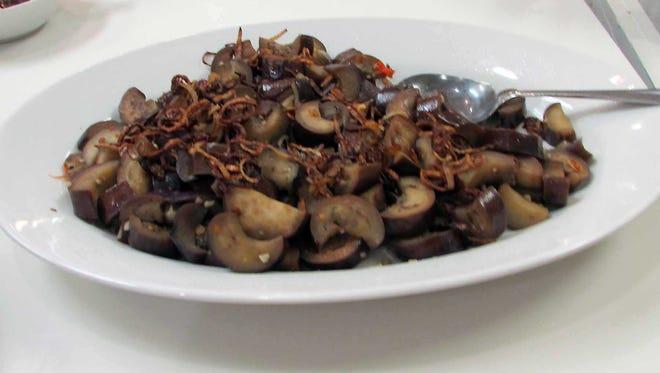 Thai Garlic-Eggplant Stir-fry