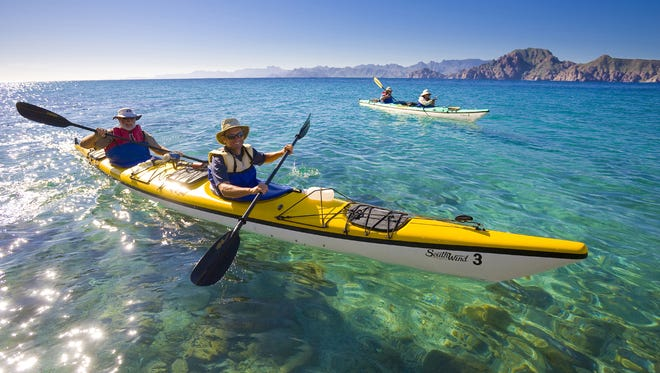 The more companions you bring paddling, the safer (and probably more fun) your voyage will be.