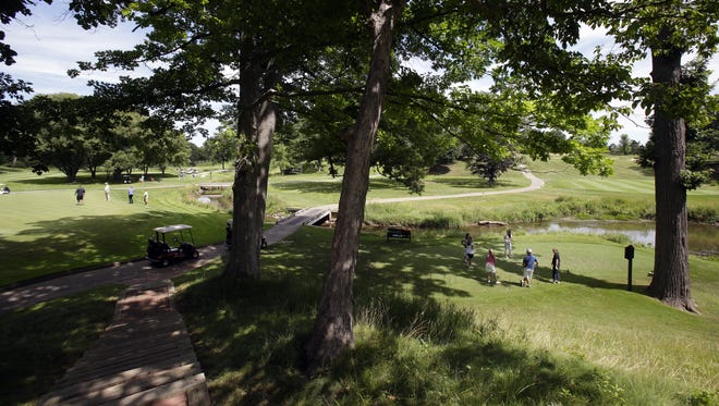 Butte des Morts Country Club, built in 1924, is a private course featuring 18 holes of golf, tennis courts, a swimming pool, a pool house and a sprawling clubhouse. It's valued at $3.7 million.