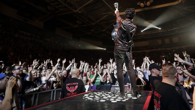 Thanks to 10 sold-out shows like this one in March from Green Day, the Resch Center has had one of its biggest concert years in the arena's 15-year history. Nearly 112,000 people attended 15 concerts at the Resch and one at Brown County Veterans Memorial Arena in the last 12 months.