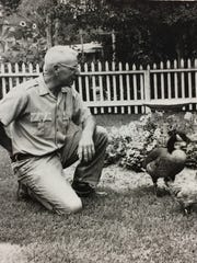 "Gurney Crawford became known as ""Father Goose"" in Fort Collins in the late 1950s."