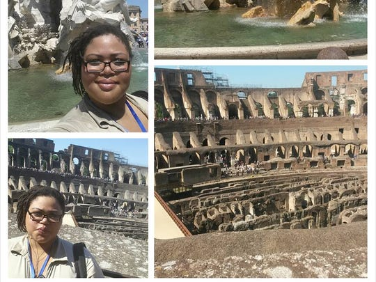 Jameelia Ricks took these photos while in Italy as part of Tompkins Cortland Community College's Italian Study Abroad Program.