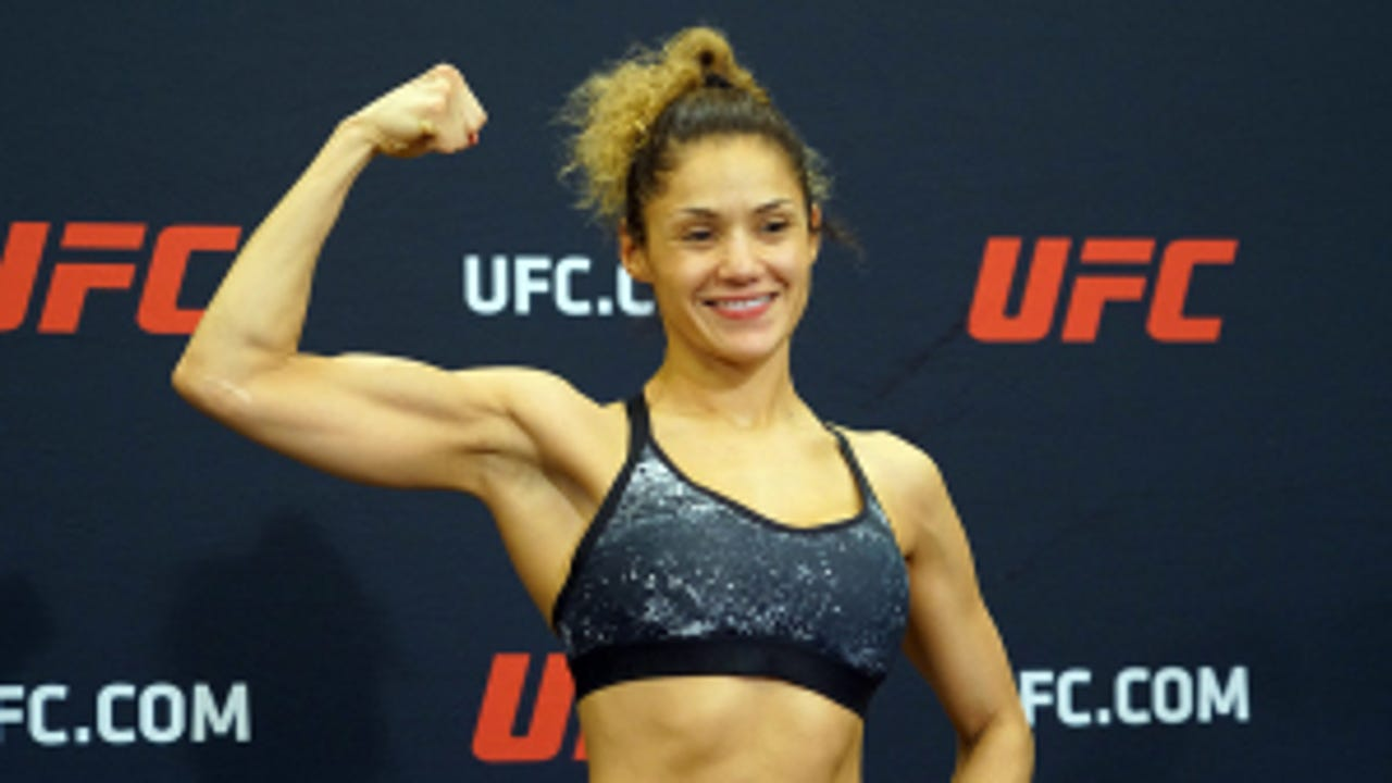 NYSAC official had told Pearl Gonzalez breast implants are banned among combat-sports competitors, but she was later cleared to fight Cynthia Calvillo on Saturday night.