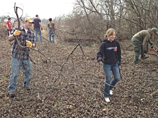 Stream restoration workdays with the Southern Wisconsin Trout Unlimited chapter have offered rewarding service experience for members of the Madison Student Chapter.