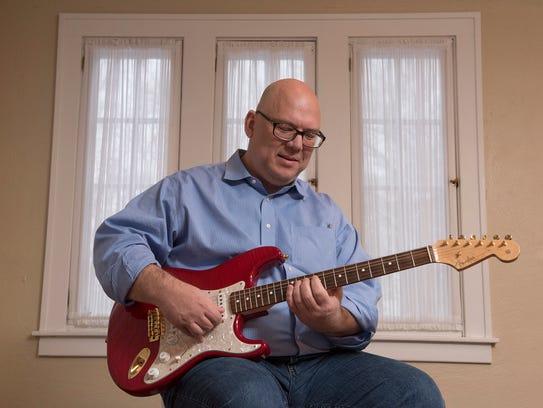 Wayne Mrdjenovich, guitar teacher and author.