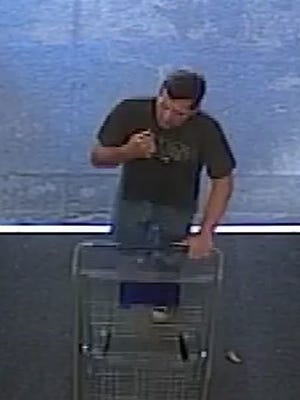 Bloomfield Township Police say this man stole a security system from Lowe's.