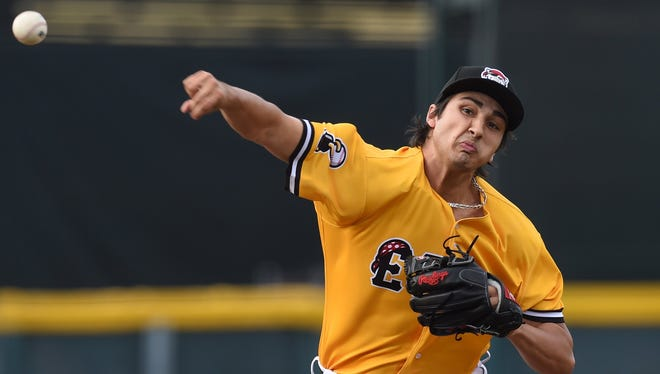 Pitcher Alex Faedo makes his debut with the Erie SeaWolves on June 19 against the New Hampshire Fisher Cats at UPMC Park.