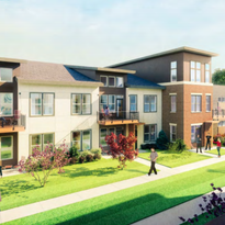 St. Francis approves downsized lakefront apartment project