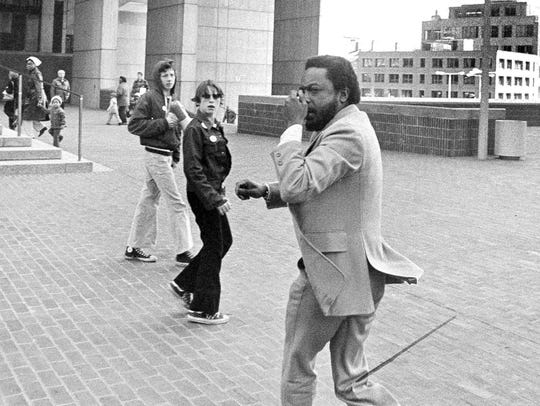 In this April 5, 1976 file photo, civil rights attorney