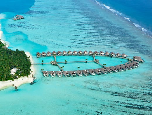 Spectacular overwater bungalows around the world