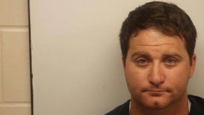 A police mugshot of suspect Ryan Cherwinski.