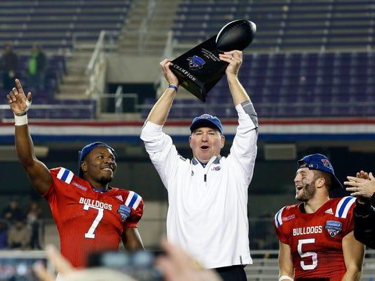 NCAA Football Armed Forces Bowl Louisiana Tech vs Navy