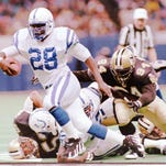 Colts running back Eric Dickerson in 1988. Star file photo.