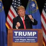 Trump leads Clinton in new Nevada poll
