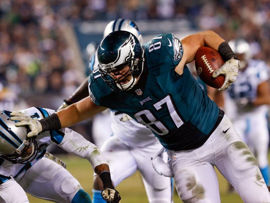 NFL: Carolina Panthers at Philadelphia Eagles