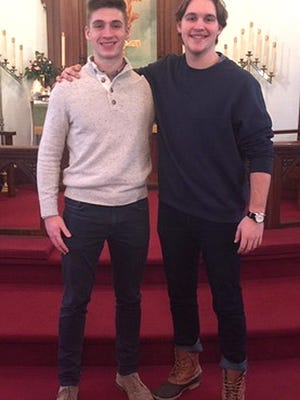 Matthew and Joshua Harrison, sons of Pastor Christopher Grant and wife, Robin, will be going on a mission to Myanmar.